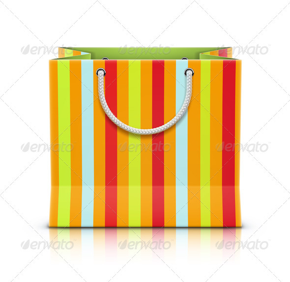Paper Shopping Bag - Commercial / Shopping Conceptual
