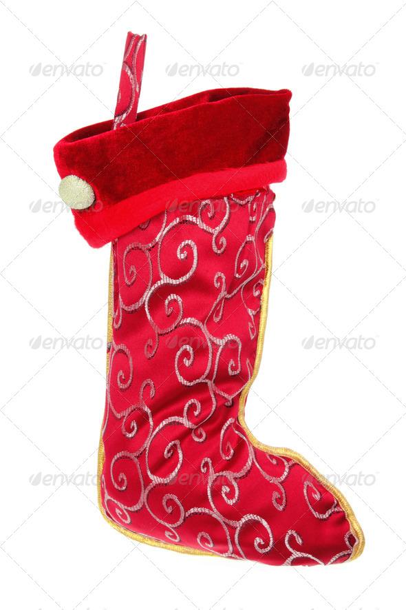 Christmas Stocking - Stock Photo - Images
