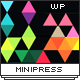 MiniPress - Responsive WordPress One Page Theme - ThemeForest Item for Sale