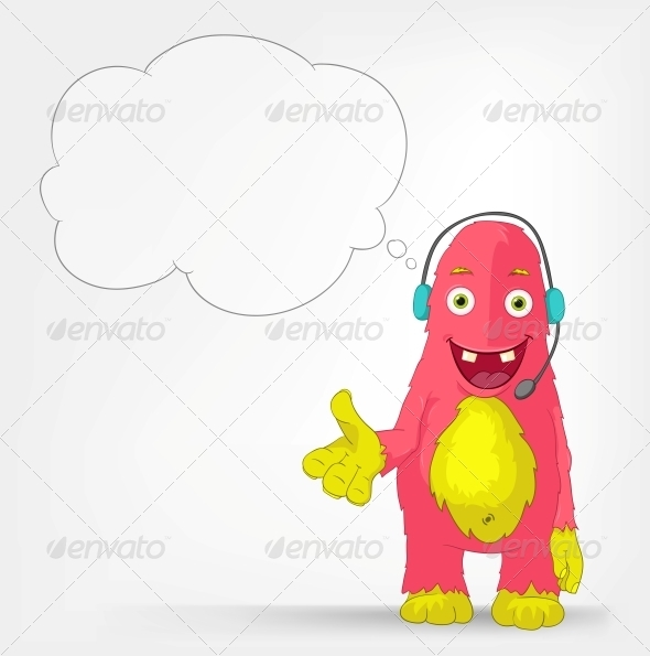 Funny Monster. Communication. - Monsters Characters