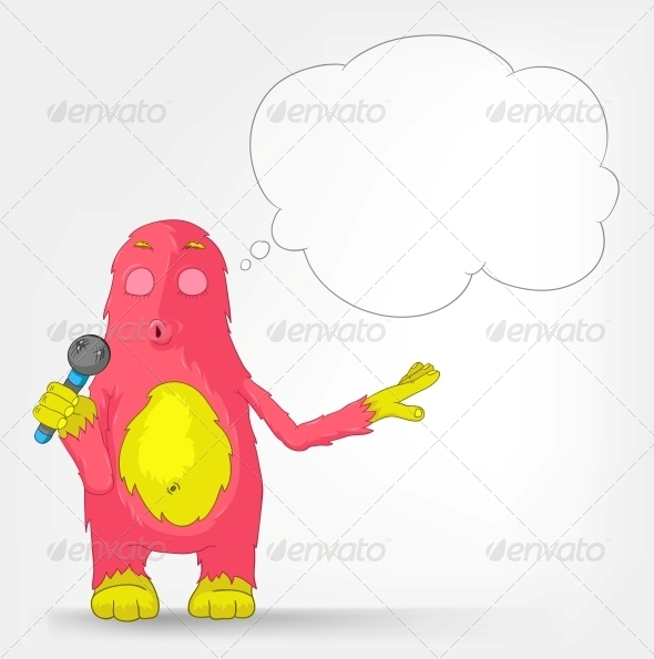 Funny Monster - Singing - Monsters Characters