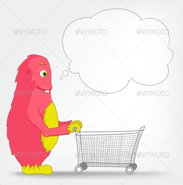 Funny Monster - Shopping - Monsters Characters