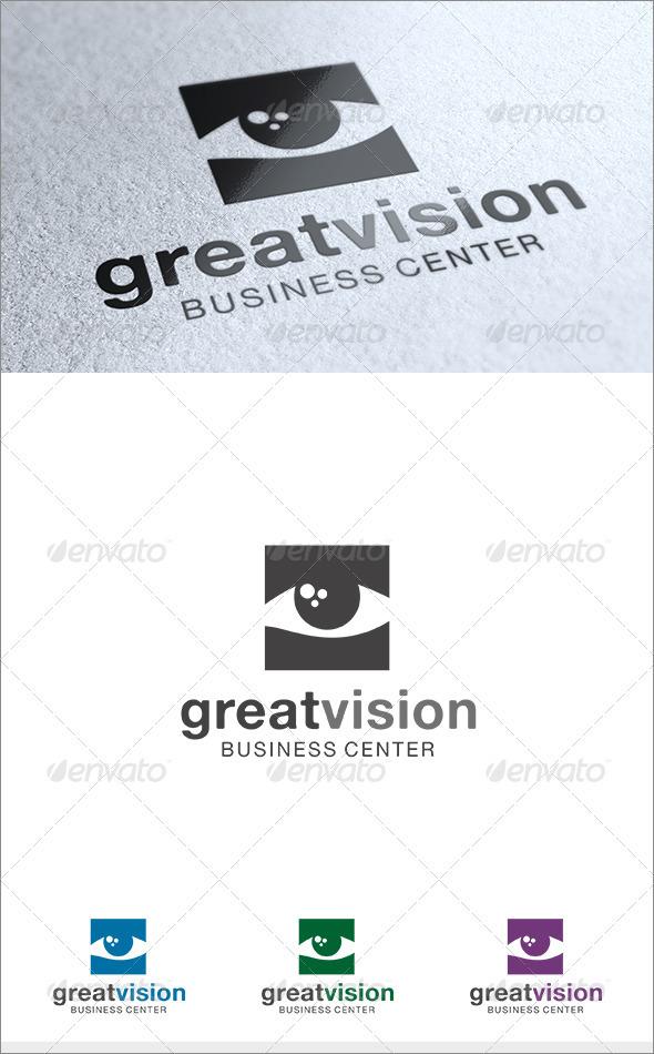 Great Vision Logo - Symbols Logo Templates