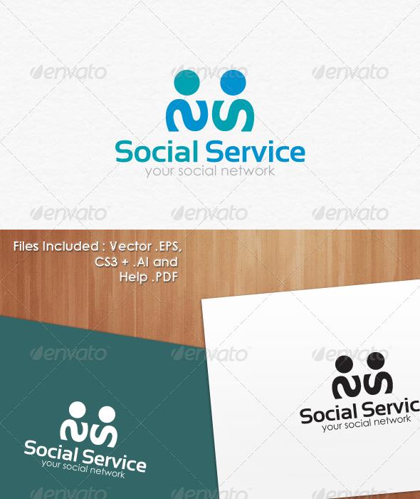 Social Service Logo Templates - Abstract Logo Templates
