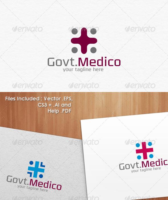 Govt.Medico Logo Templates - Symbols Logo Templates
