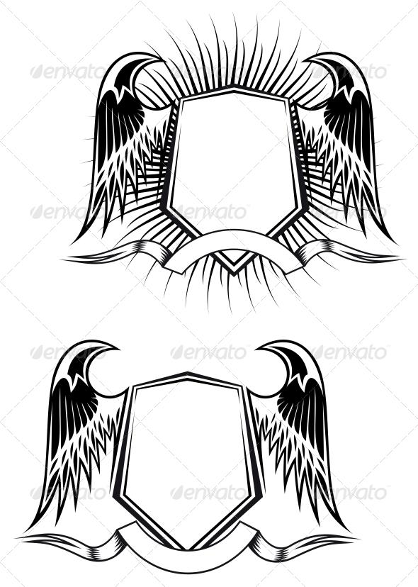Heraldic Elements - Decorative Symbols Decorative