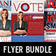 Promotional Arsenal Political Flyer Bundle 1 - GraphicRiver Item for Sale