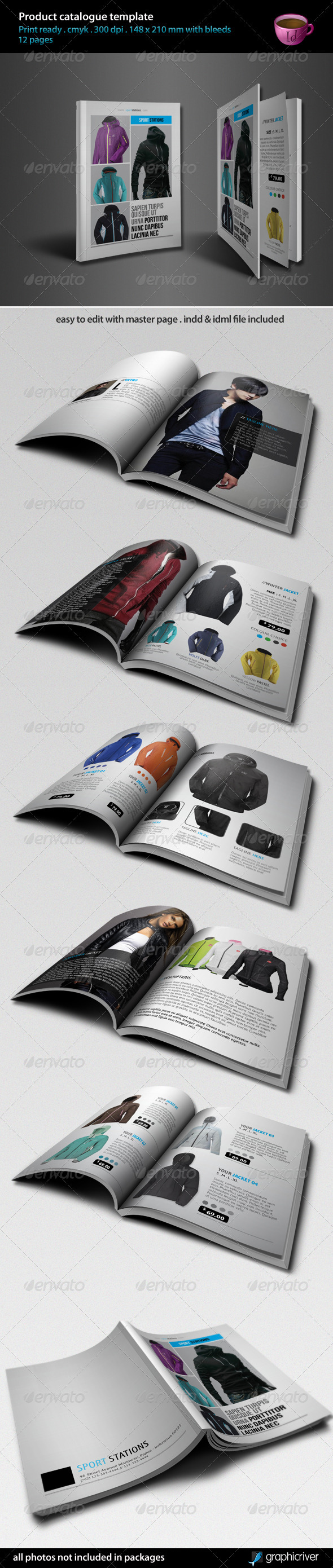 Product Catalogue Template - Catalogs Brochures