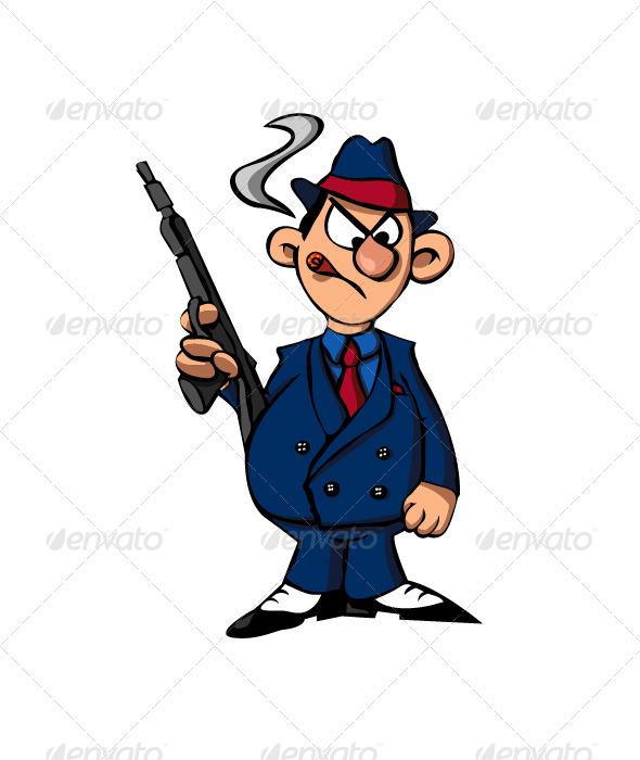 Gangster - Characters Vectors