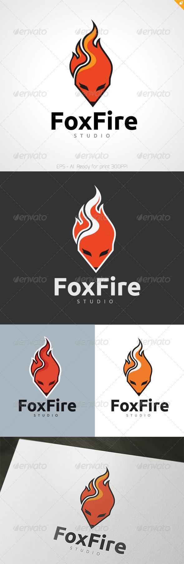 Foxfire Logo - Animals Logo Templates