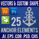 25 Anchor Element - GraphicRiver Item for Sale
