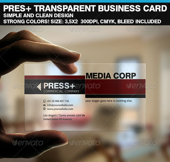 Prescorp transparent business card by riverpixelsstudio graphicriver prescorp transparent business card colourmoves