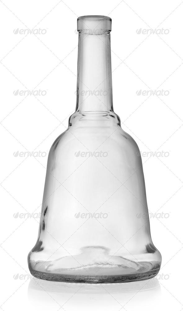 Empty bottles of liquor - Stock Photo - Images
