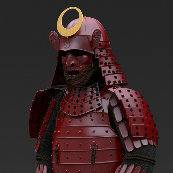 Samurai Armor By Yojigraphics 3docean