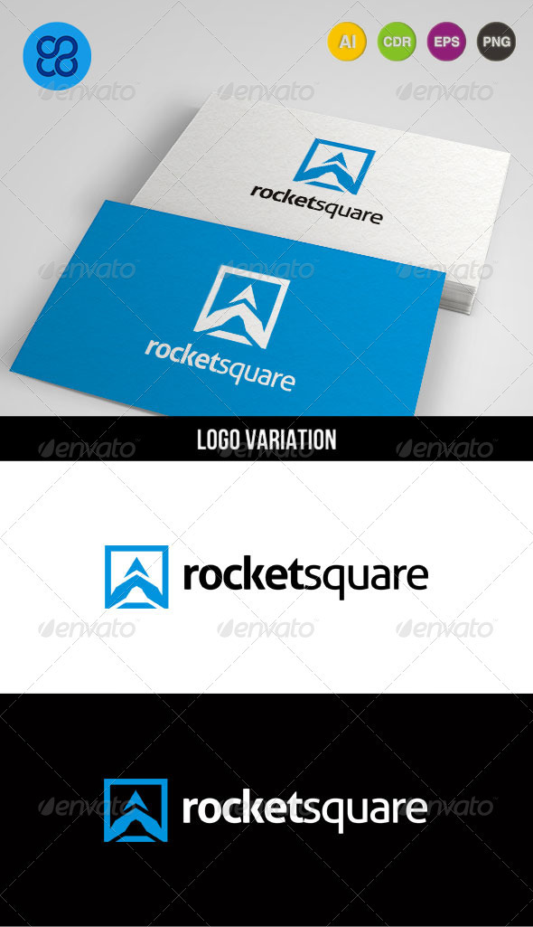 Rocketsquare - Abstract Logo Templates