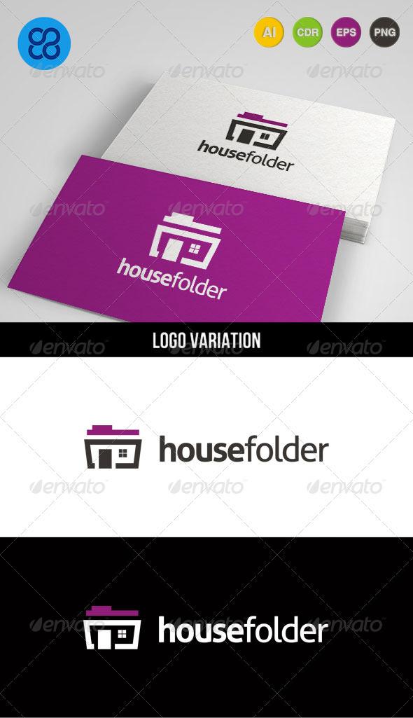 Housefolder - Buildings Logo Templates