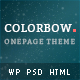 Colorbow - A Onepage Creative Portfolio Theme Nulled