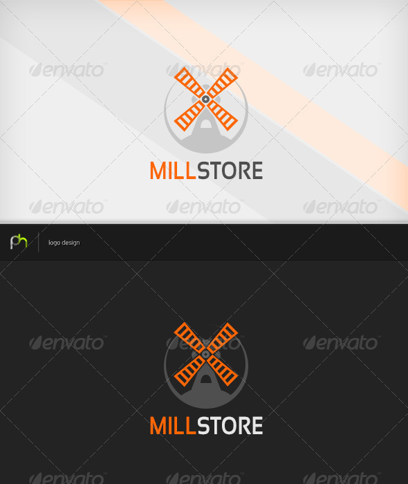 Millstore Logo - Buildings Logo Templates