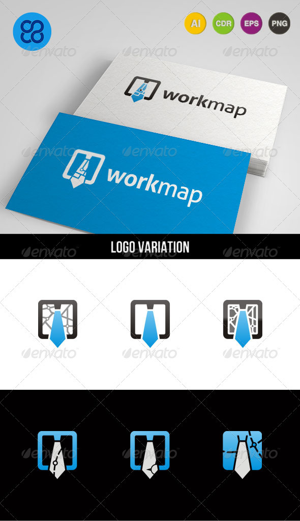 Workmap Logo - Symbols Logo Templates