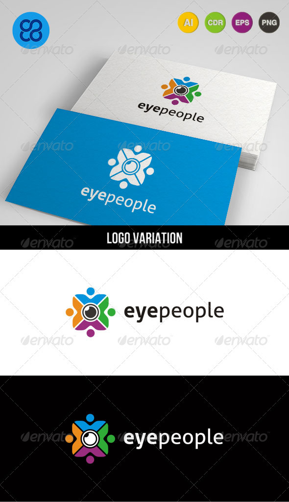Eye People - Humans Logo Templates