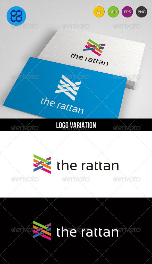 The Rattan - Abstract Logo Templates