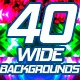 Vj Wide Backgrounds Pack - VideoHive Item for Sale
