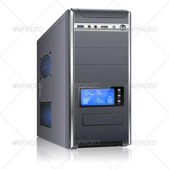 Modern Computer Case - Computers Technology