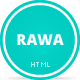 Rawa - Clean / Responsive / Minimal / HTML5 - ThemeForest Item for Sale