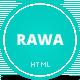 Rawa - Clean / Responsive / Minimal / HTML5 - ThemeForest Item for Sale