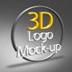 Photo Realistic 3D Logo Mock-up - GraphicRiver Item for Sale