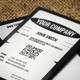 Simple Vertical Business Card - GraphicRiver Item for Sale