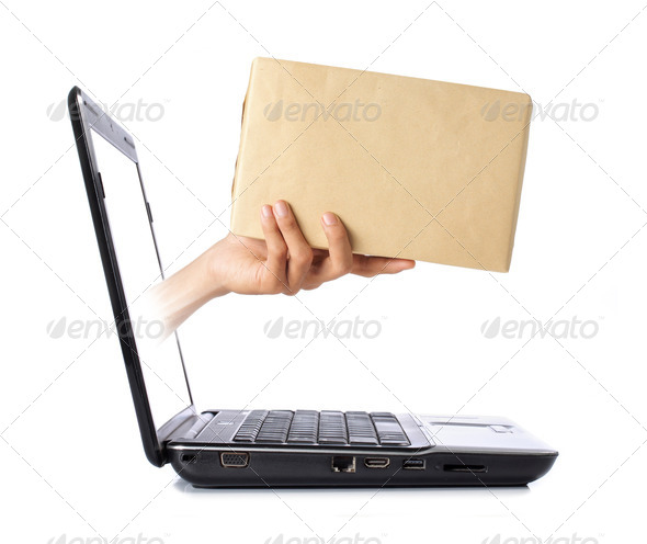 online delivery - Stock Photo - Images