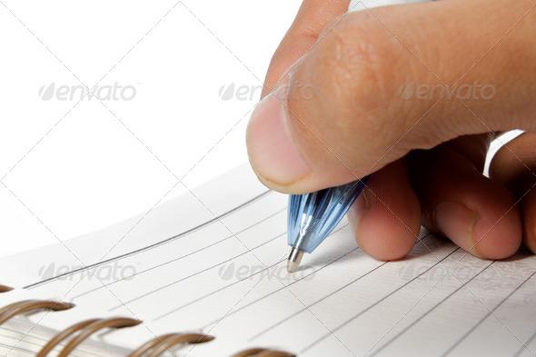 writing - Stock Photo - Images