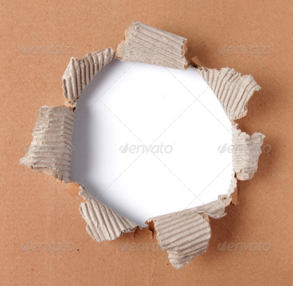 torn paper - Stock Photo - Images