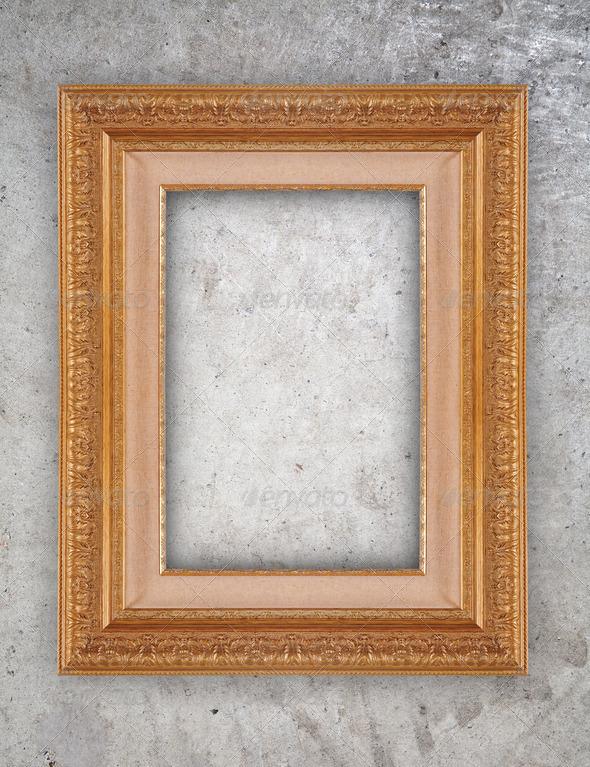 Ornate frame - Stock Photo - Images