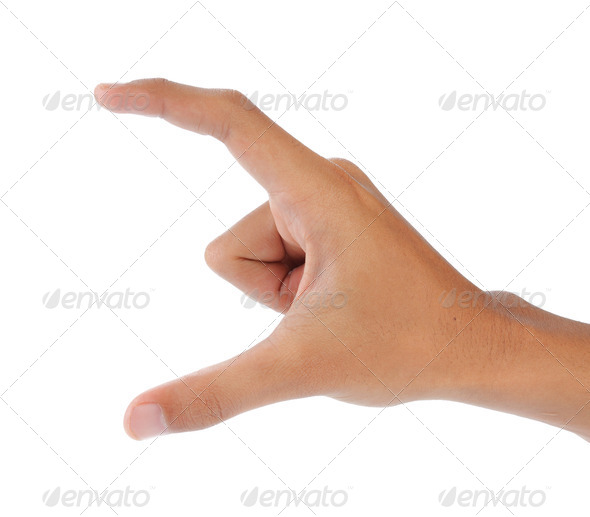 gesture of hands - Stock Photo - Images