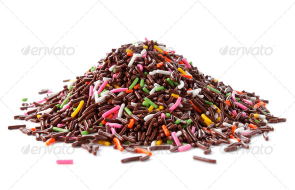 chocolate mountain - Stock Photo - Images