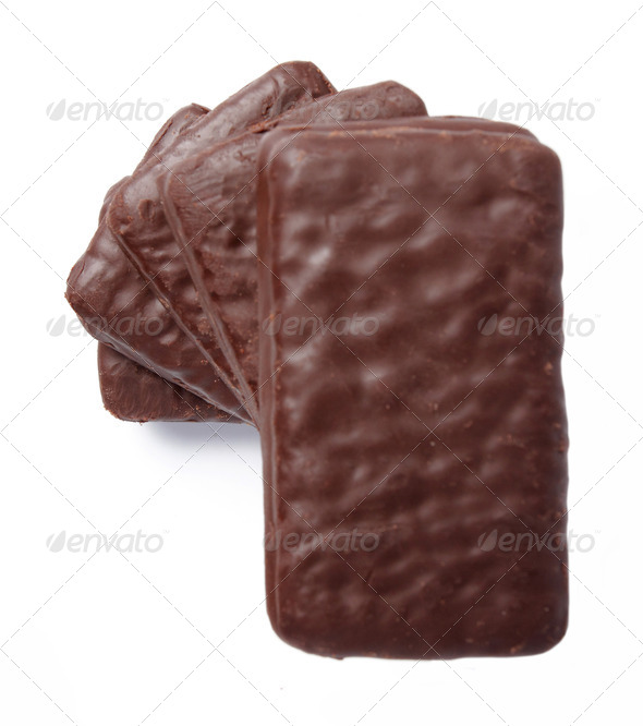 chocolate biscuits - Stock Photo - Images
