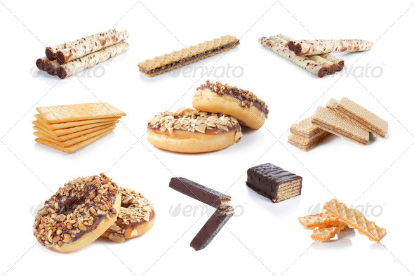 snack collection - Stock Photo - Images