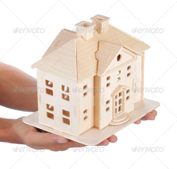 big house - Stock Photo - Images
