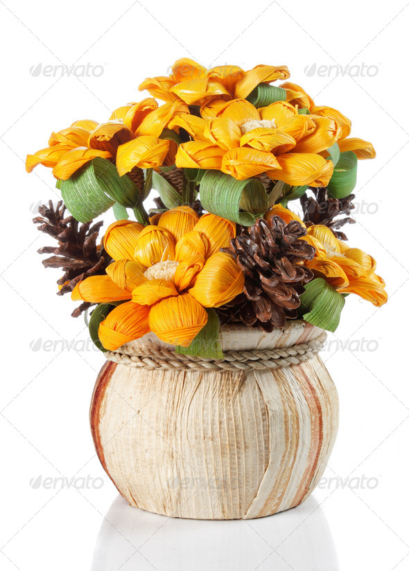 yellow flower - Stock Photo - Images