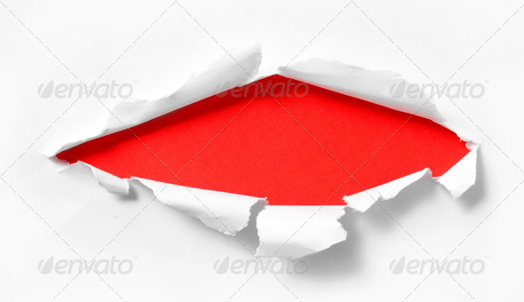 wreck paper - Stock Photo - Images