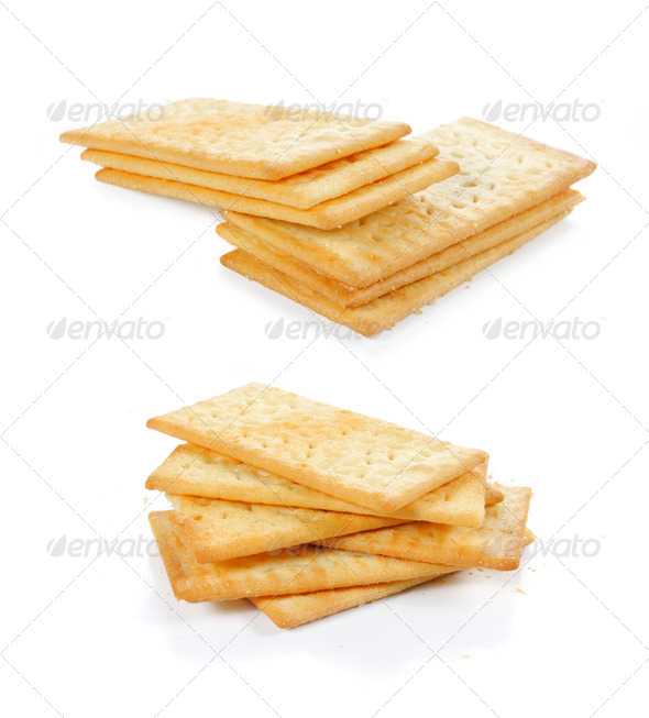 cheese crackers - Stock Photo - Images