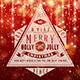 Retro Typography Over Red Bokeh Background - GraphicRiver Item for Sale