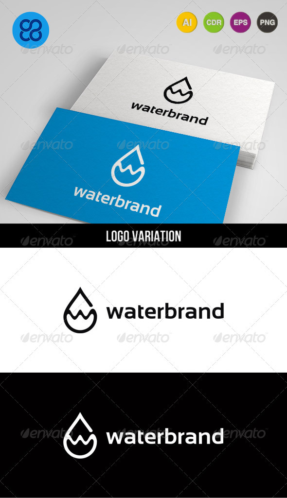 Waterbrand - Objects Logo Templates