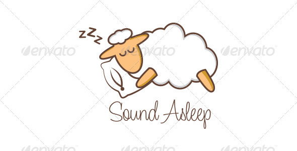 Sound Asleep - Animals Logo Templates