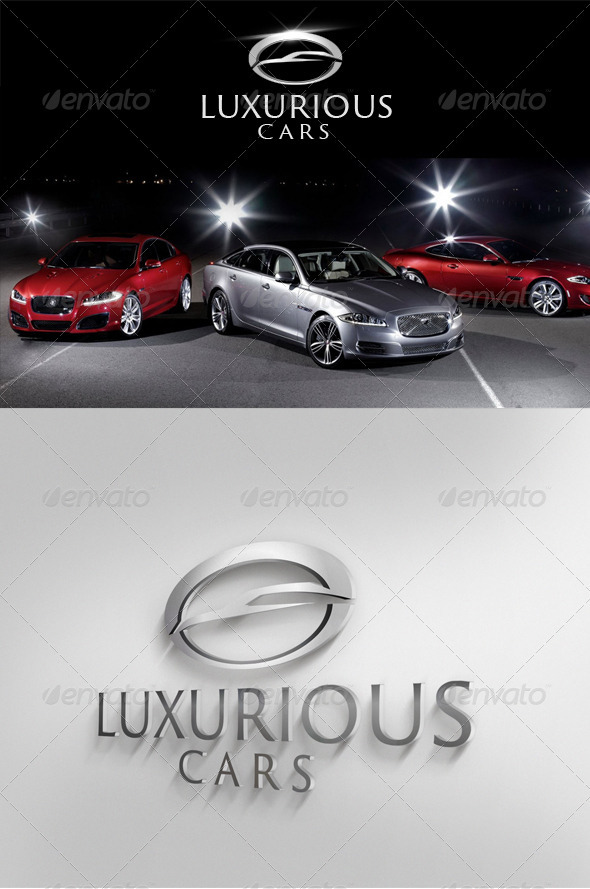 Luxurious Cars - Objects Logo Templates