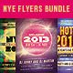 Universal & NYE Party Flyers Bundle - GraphicRiver Item for Sale