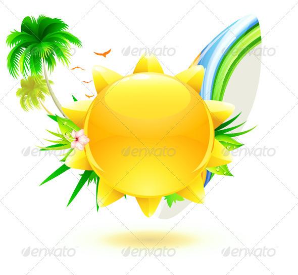 Funky Summer Concept - Travel Conceptual