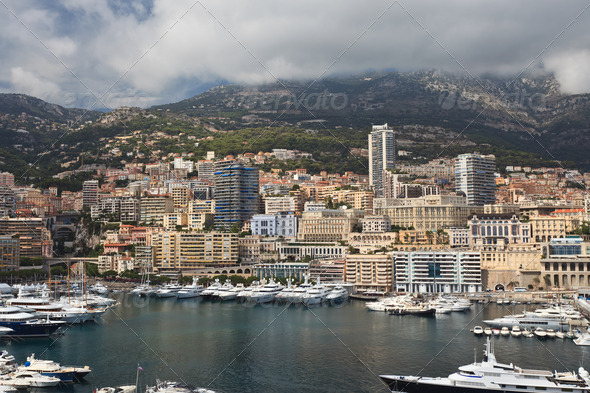 city of Monaco - Stock Photo - Images